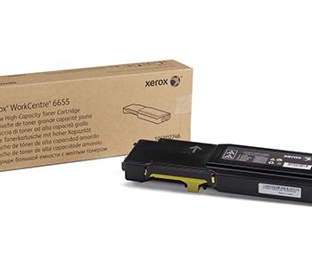 Toner Xerox 6655 106R02754 Yellow