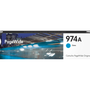 Tinta HP 974 cyan L0R87AL