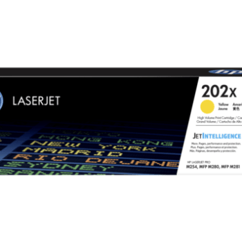 Toner HP 202X CF502X Yellow