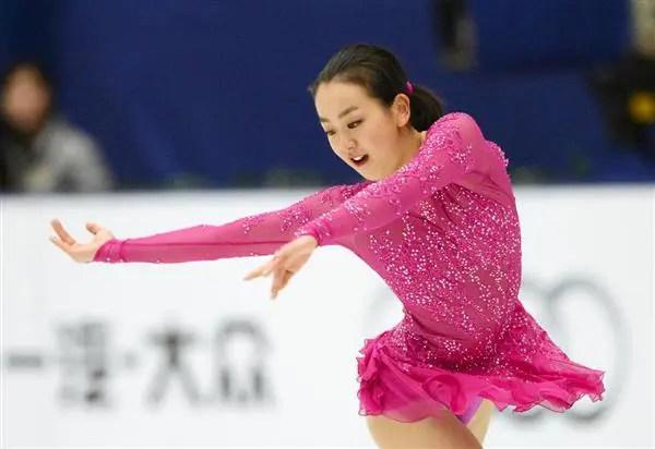 浅田真央「素敵なあなた」中国杯2015