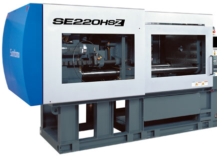 Clamping unit of SE-HSZ electric injection molding machine