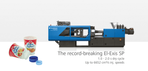 El-Exis SP ultra-high-speed hybrid injection molding machine for packaging