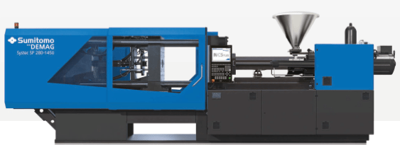 Systec SP hybrid injection molding machine from Sumitomo (SHI) Demag