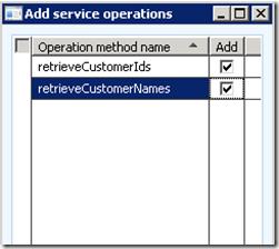 Create Your First Custom Service [AX 2012] (4/6)