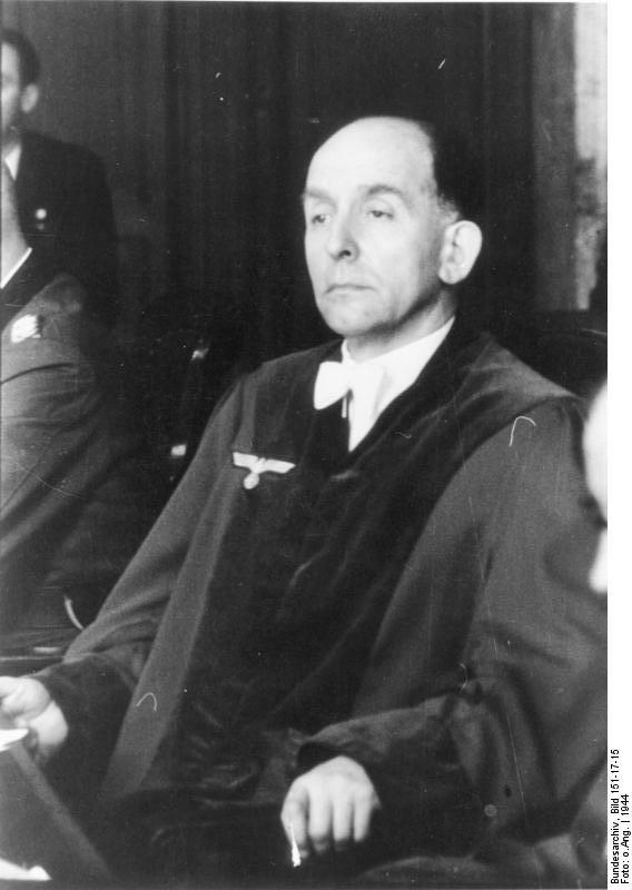 Volksgerichtshof, Roland Freisler