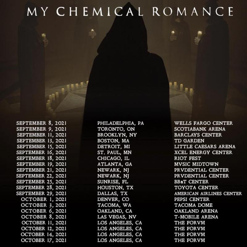 My Chemical Romance 2021