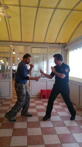 Bram Frank Kali Combat Modern Arnis CSSDSC Bellani Knife Fighting