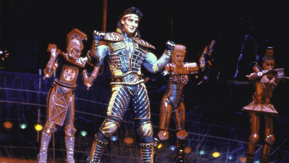 Robert Torti and company in Starlight Express.