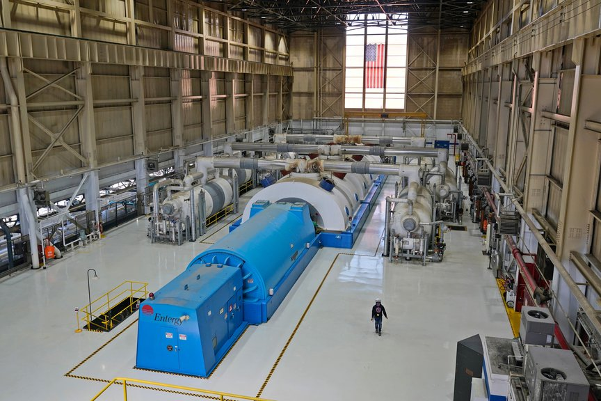 The Unit 3 turbine generator at Indian Point Energy Center, April 26th, 2021