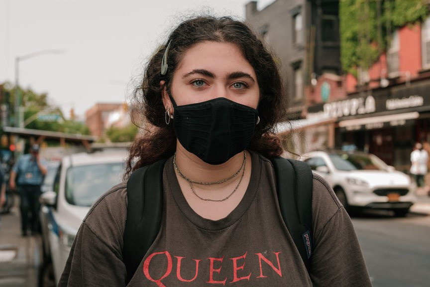 A photo of a woman in Williamsburg