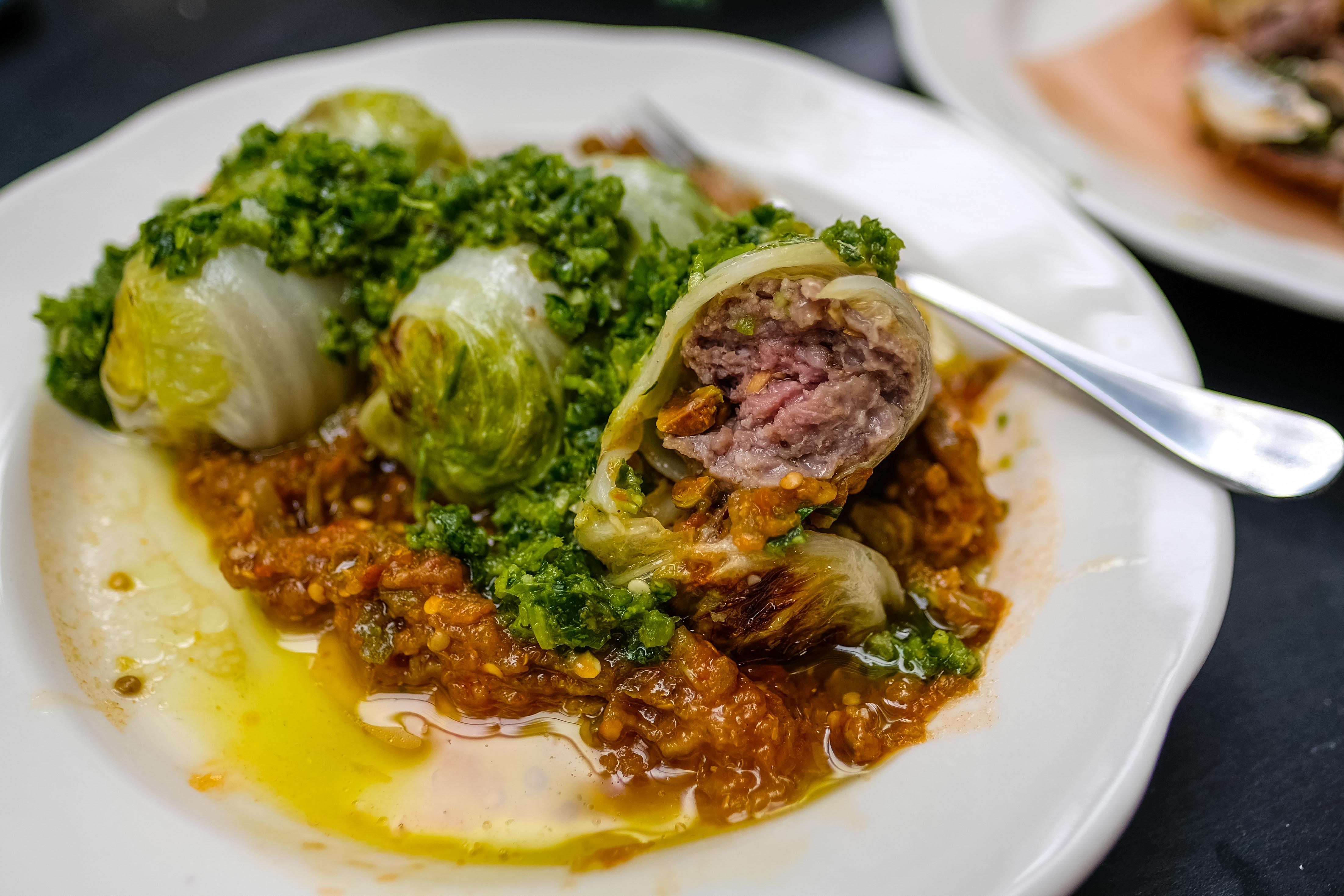 A photo of Lamb Stuffed Cabbage at Sami & Susu