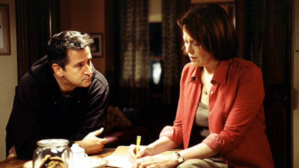 """Anthony LaPaglia and Sigourney Weaver in """"The Guys."""""""