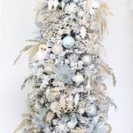 Elegant Christmas Entry In Champagne Spa Blue Summer Adams