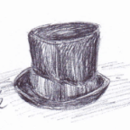 Charlie's Room: the top hat