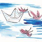 Charlie's Room: Paper Boat