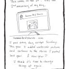 How I Keep a Comic Diary