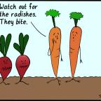 Biting Veggies