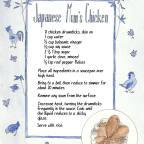 Family Recipe: Japanese Mum's Chicken