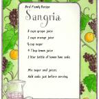 Family Recipe: Sangria