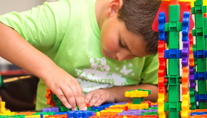 Camper build with LEGOs