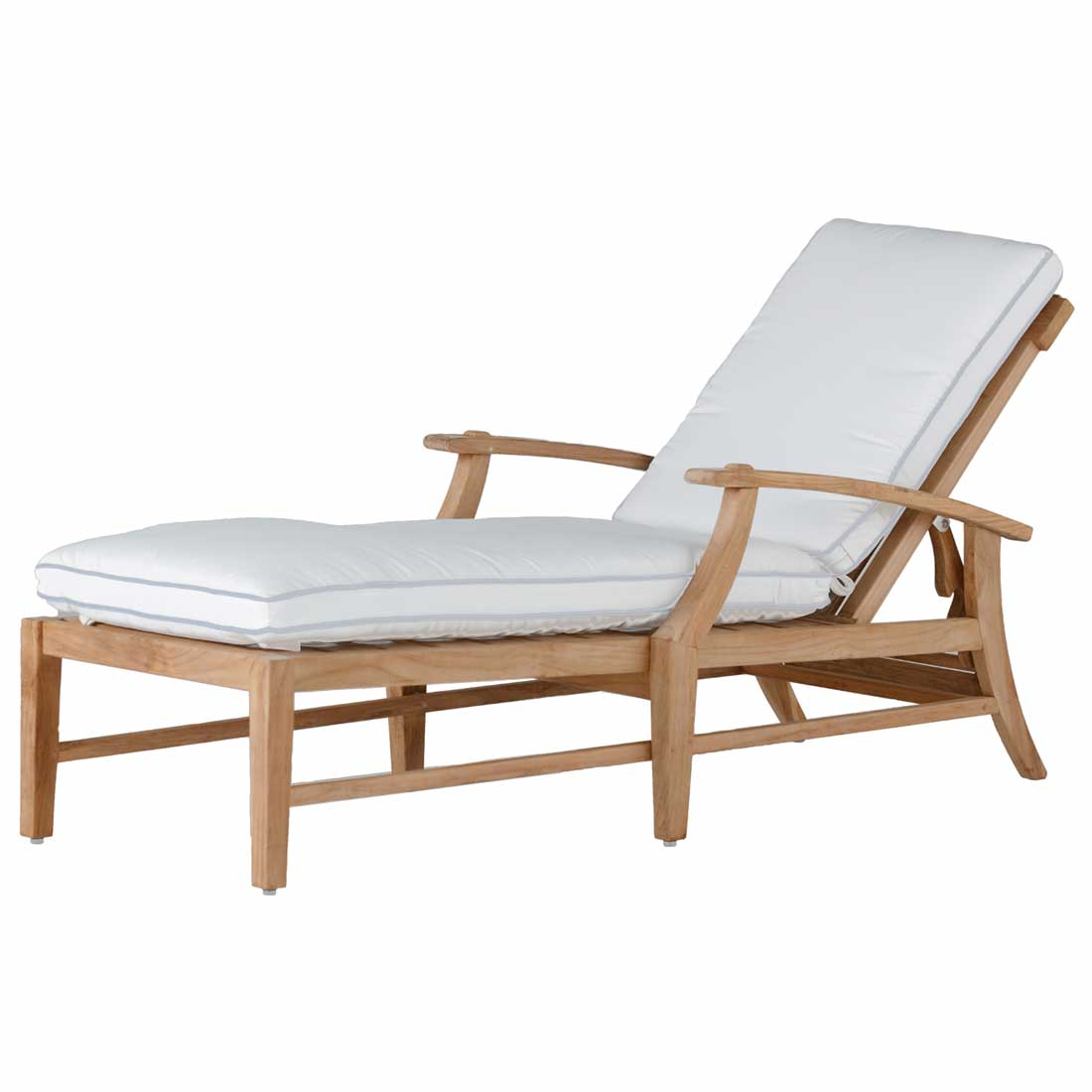 Teak Chaise Lounge Chairs Croquet Teak Chaise Summer Classics