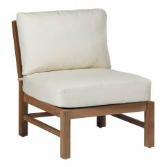 Frontgate Outdoor Lounge Chairs Pier One Parsons Chair Club Teak Slipper