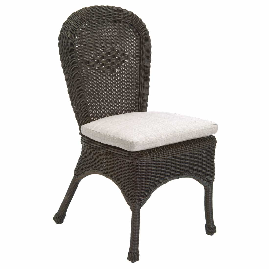 Wicker Side Chair Classic Outdoor Wicker Side Chair