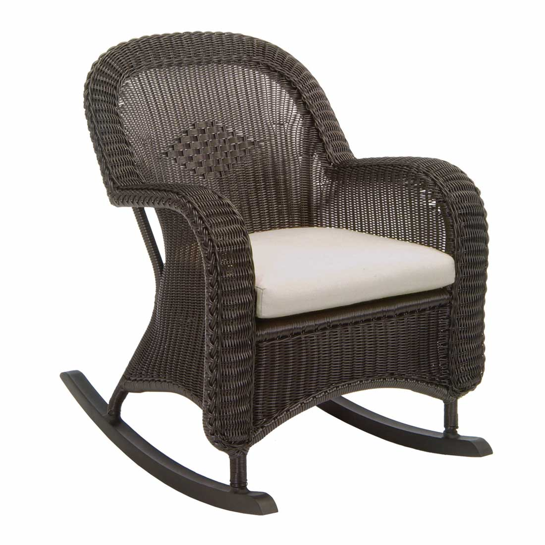 Black Wicker Rocking Chairs Classic Outdoor Wicker Rocking Chair