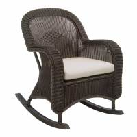 Classic Outdoor Wicker Rocking Chair