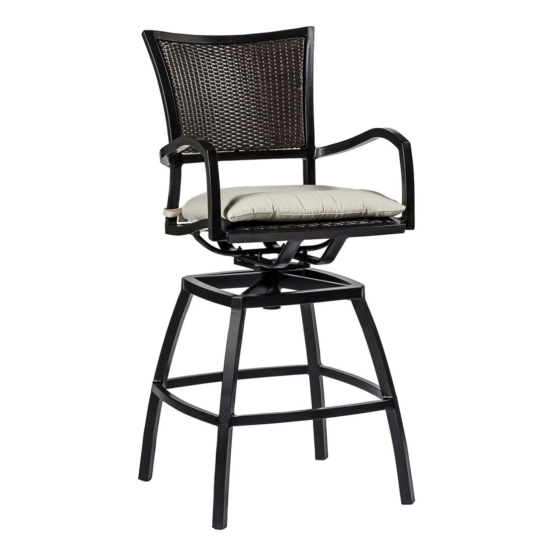 Swivel Bar Chairs Aire Swivel Barstool Outdoor Furniture Bar Stools