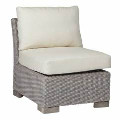 Woven Outdoor Chair Covers White Club Slipper