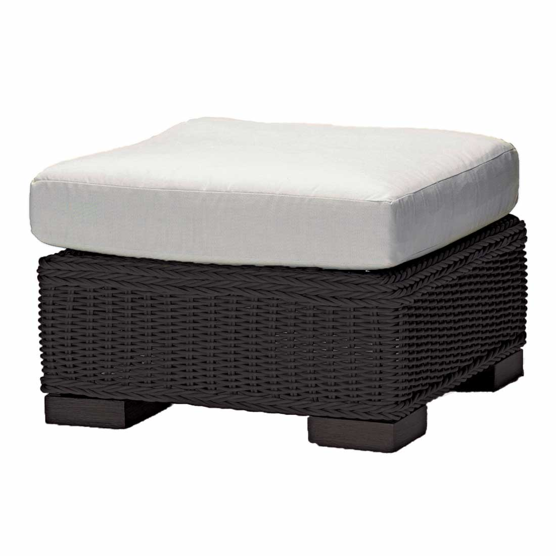 gray patio chair covers custom gaming chairs rustic outdoor wicker ottoman
