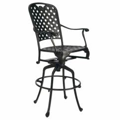 Tall Patio Chairs With Arms Black Ghost Chair Hire Provance 30 Quot Outdoor Swivel Bar Stool