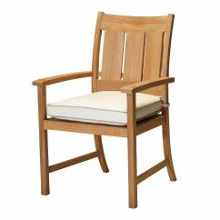 Frontgate Lounge Chair Cushions Stool For Patient Croquet Teak Arm Summer Classics Contract
