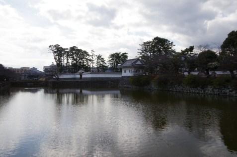 小田原城お堀