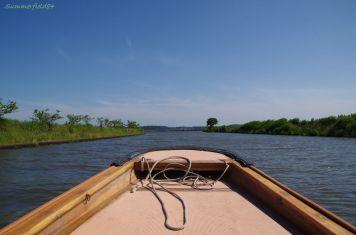 舟から見た与田浦