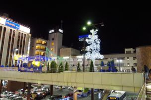 松戸駅西口広場
