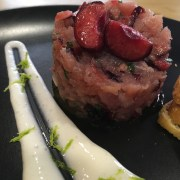 tartar de atún con cereza by summer fruit