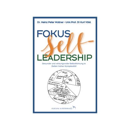Du siehst das Cover des Buches Fokus Self-Leadership