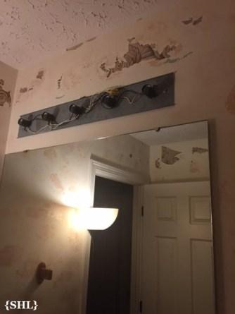 SHL Guest Bath wallpaer removal