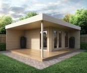 modern garden summer houses