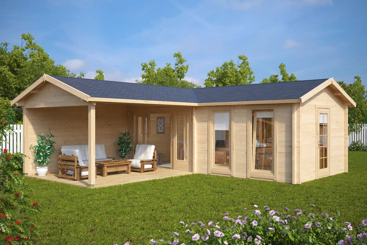 New Garden Rooms And Log Cabins For 2017 Season