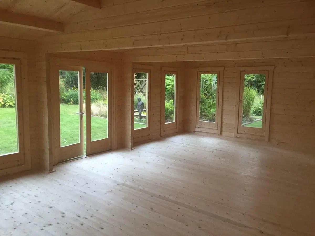 Large Garden Room D 38m 70mm 5 X 8 M Summer House 24