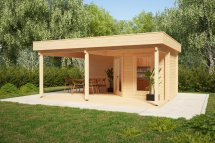 Garden Room With Terrace Remo-3 6m2 44mm 4 X 6m