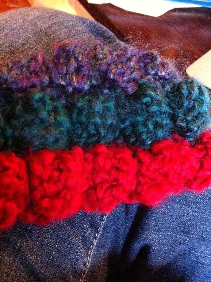 crocheted afghan beginning