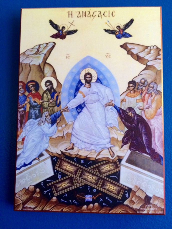 An icon of the Resurrection, sometimes called
