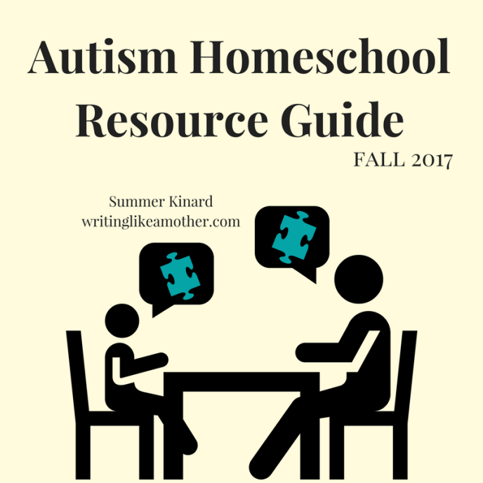 Autism Homeschool Resource Guide