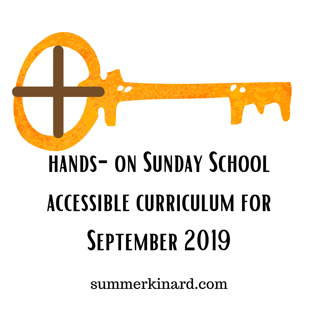 Free Month of Hands-On Sunday School Curriculum
