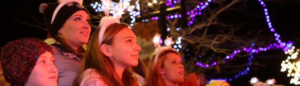 Enjoying the Festival