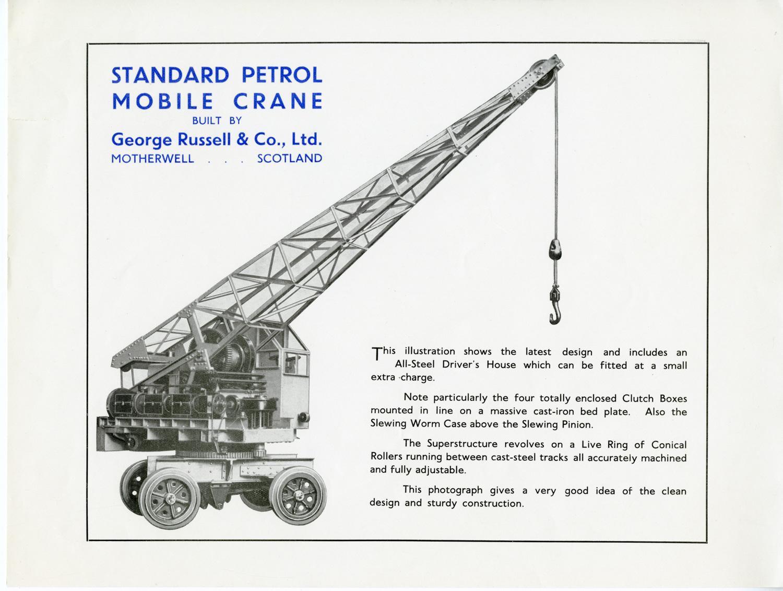 Engineering Lanarkshire The Crane Makers Culturenl Museums